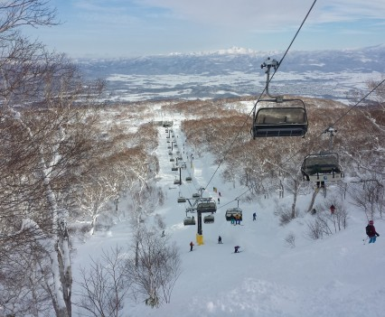 Niseko Hanazonon Hooded Quad Lift #3