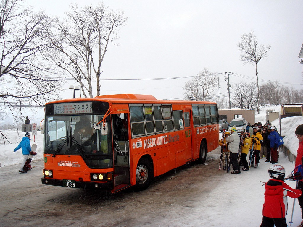 Niseko United shuttle bus