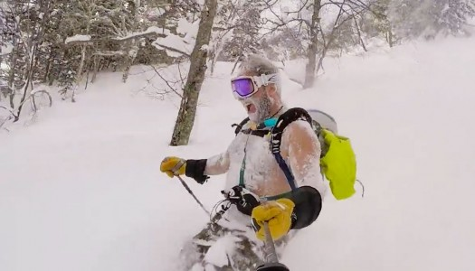 Yeti spotted in Niseko
