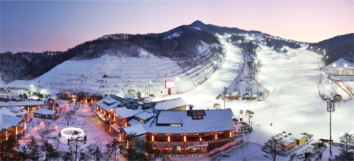 Konjiam Resort, Korea