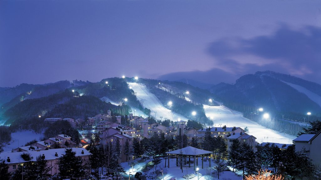 YongPyong Dragon Valley