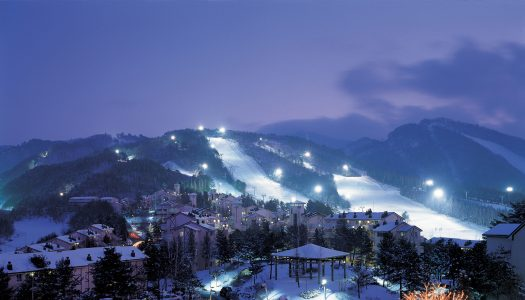 Top 5 ski resorts in Korea