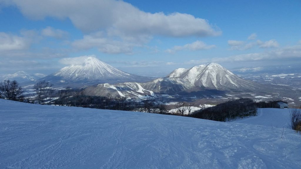 Rusutsu ski resort, Japan