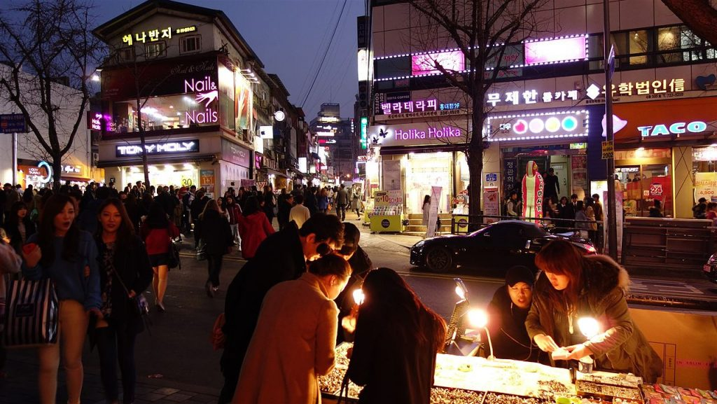 and Korean or Itaewon gay bars are western style