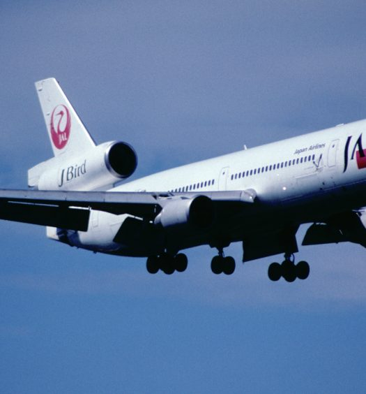 Japan Airlines JAL flight
