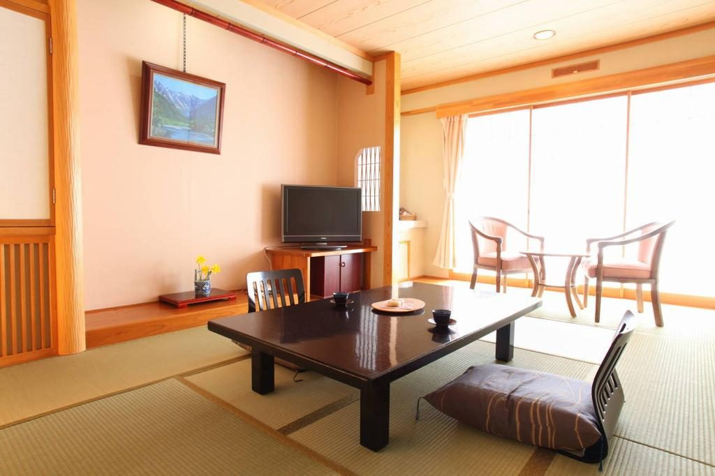 A room at Ryokan Biyunoyado