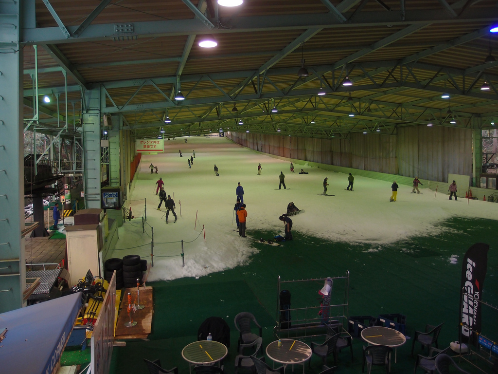 Sayama Ski indoor ski slope