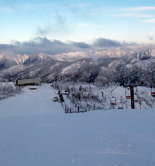 Shiga Kogen ski resort, Japan