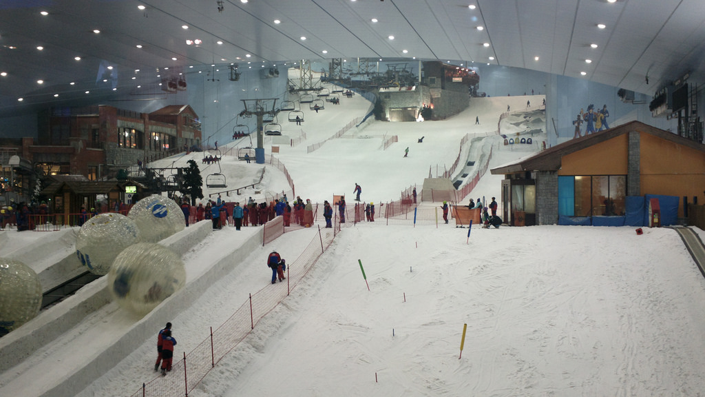 ski dubai indoor ski slope