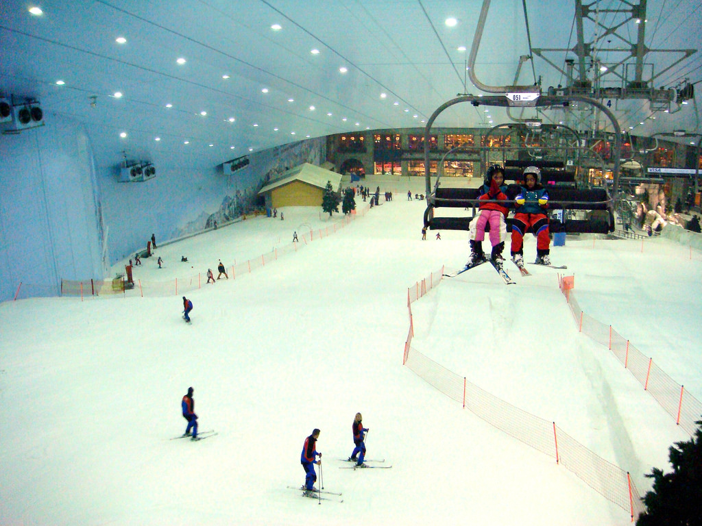 top 5 indoor ski slopes in asia | ski asia