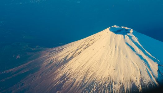 Skiing Mount Fuji