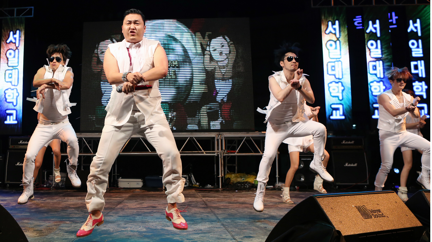 Psy concert K-pop Winter Olympics