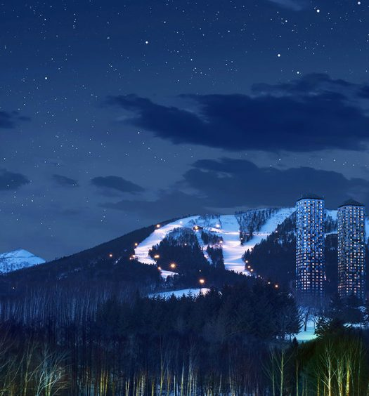 Tomamu Ski Resort night