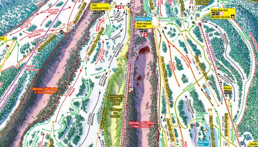Spot the difference: Niseko releases 17/18 trail map