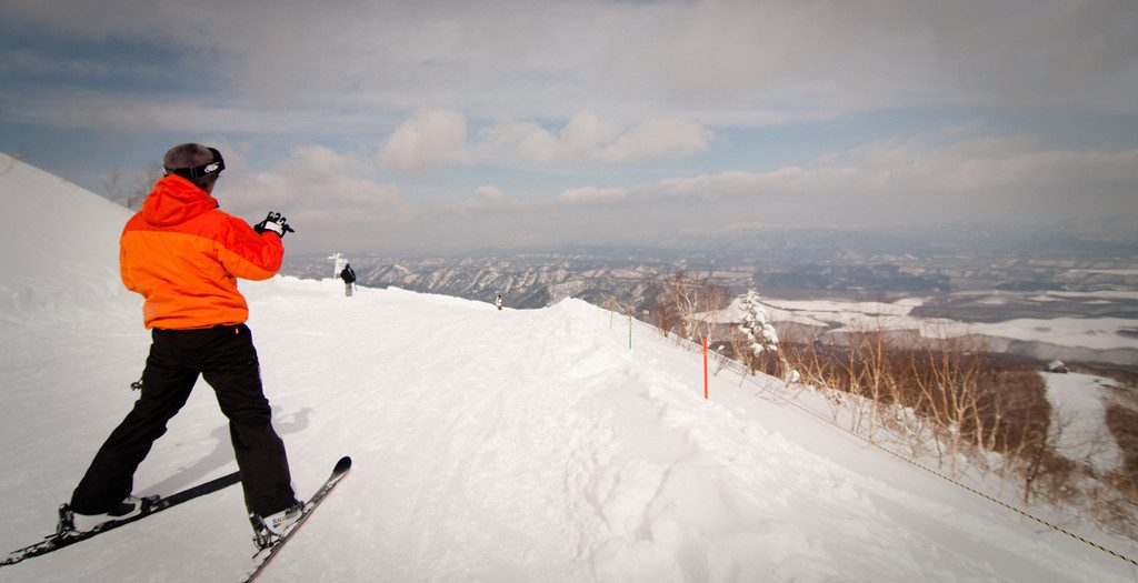 Sahoro ski resort, Japan
