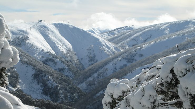 Mary's Slide, Mt. Hotham