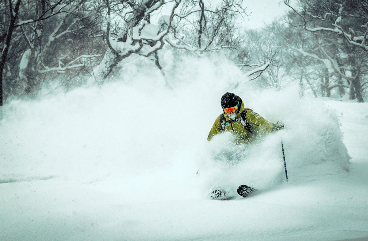 Japan backcountry skiing