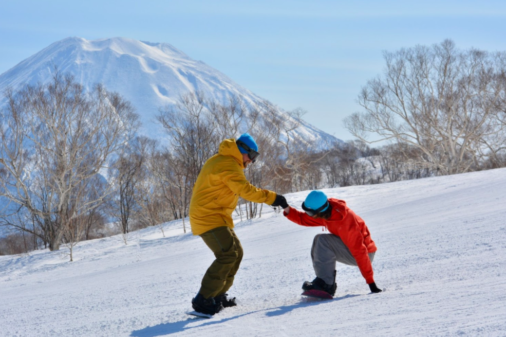 Becoming a snowboard instructor in Japan