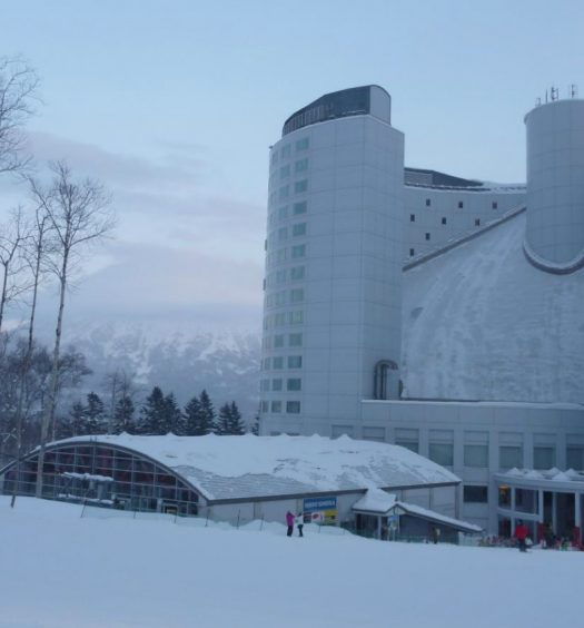 Hilston Niseko Village luxury ski hotel in Asia