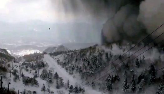 Man killed as volcano erupts near Japanese ski resort