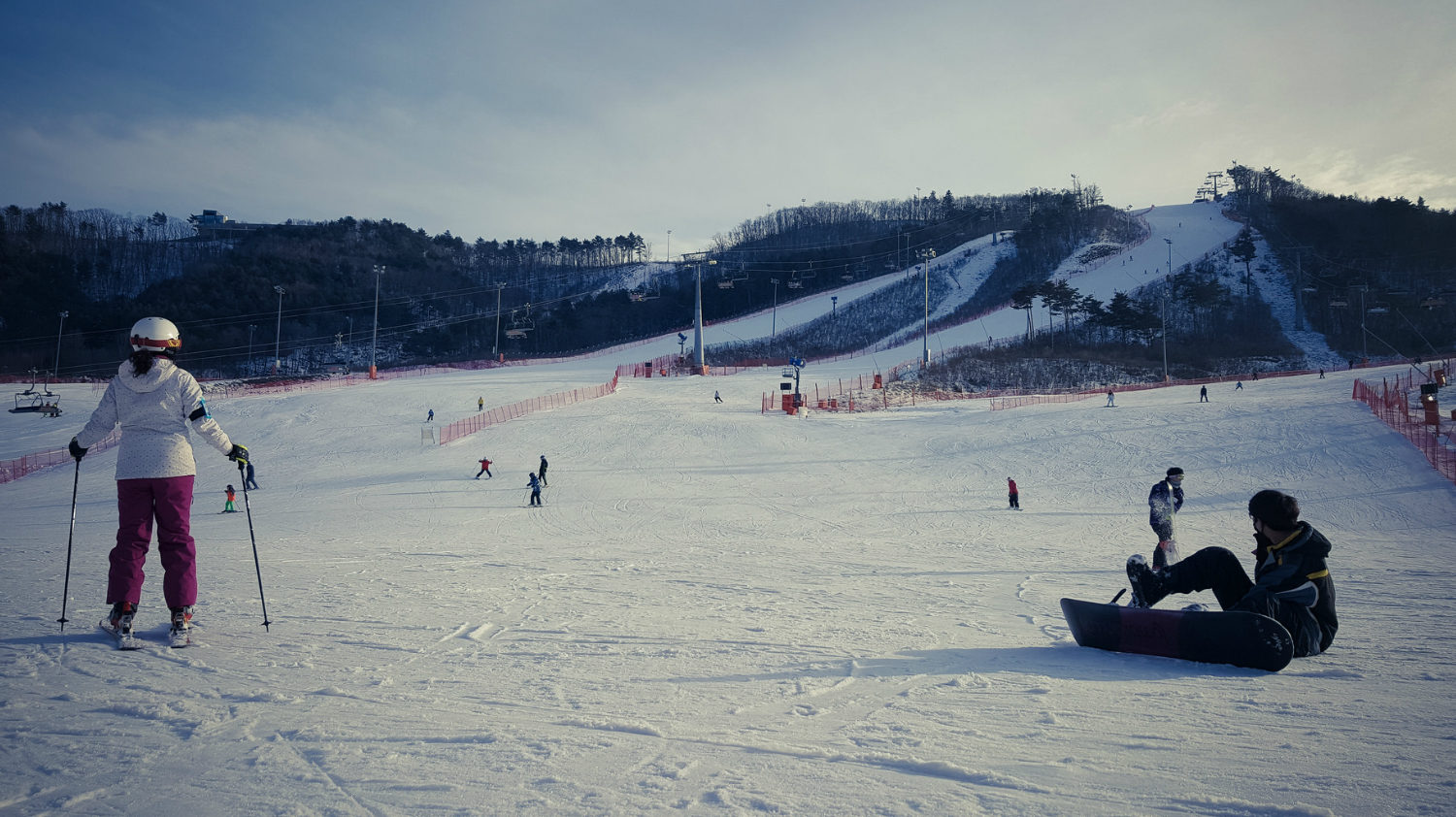 Yongpyong Ski Resort slopes