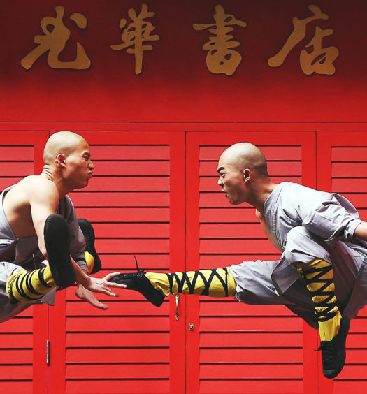 Shaolin Monks Beijing 2022