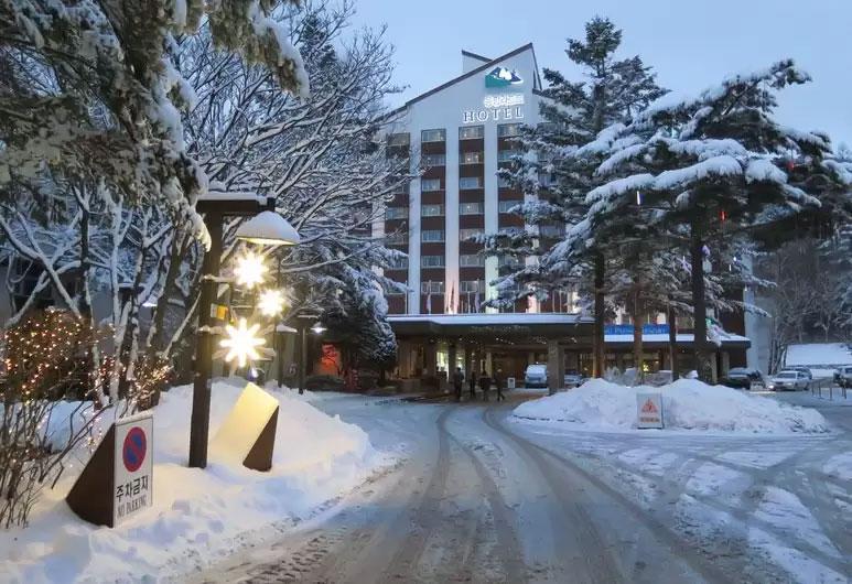 Meilleur hôtel de ski en Corée - Dragon Valley Hotel, YongPyong