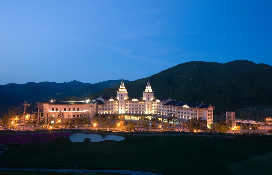 Meilleur hôtel de ski en Corée du Sud - High1 Palace Hotel