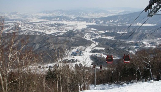 Top 5 ski resorts in China