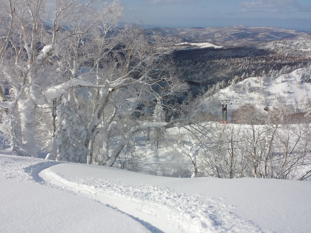 Kiroro ski resort powder