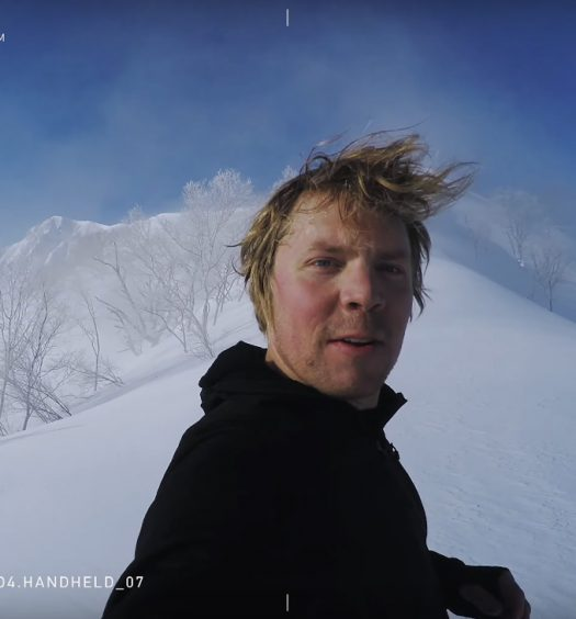 Travis Rice in Hakuba, Japan