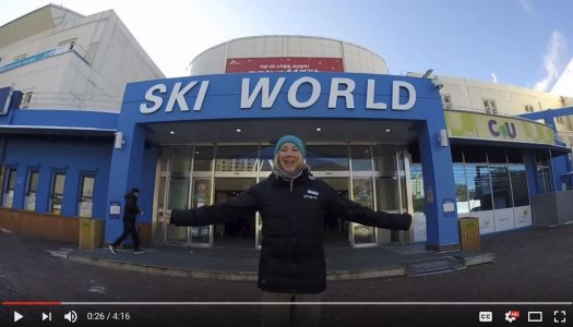 What it's like to work for a Korean ski school
