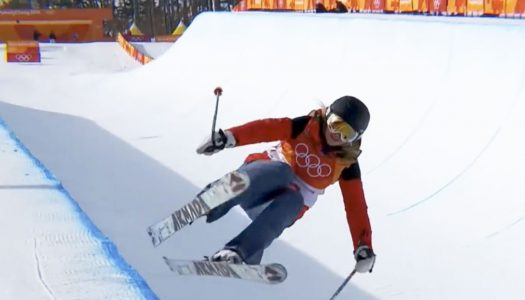 Could you ski better than this Olympian?