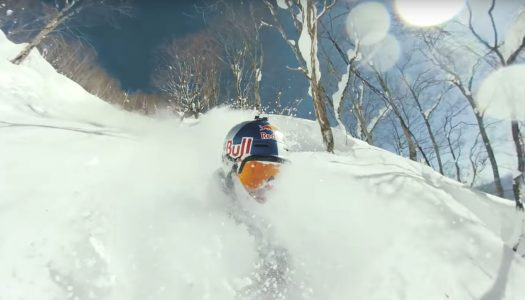 Jon Olsson skis in heaven (Hakuba)
