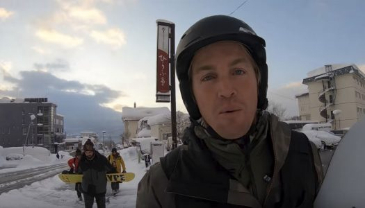 Snowboarding and surfing in Hokkaido with Jamie O'Brien