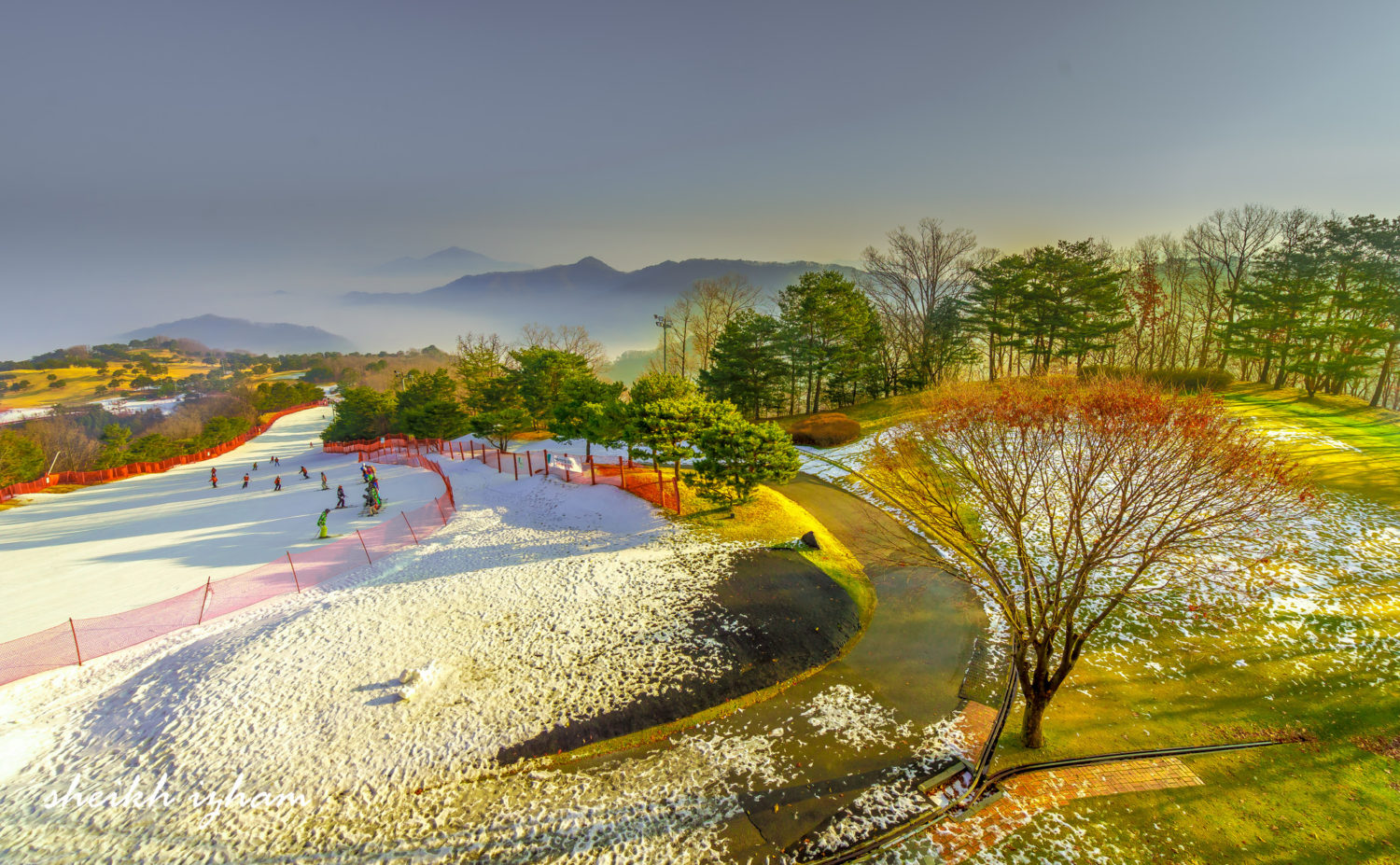 Vivaldi Park ski resort near Seoul