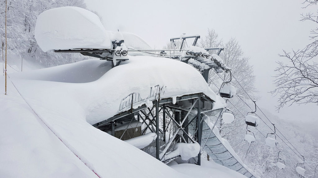 Japan's best ski resort for powder - Madarao, Japan