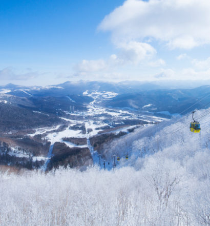 Tomamu Ski Resort, Japan