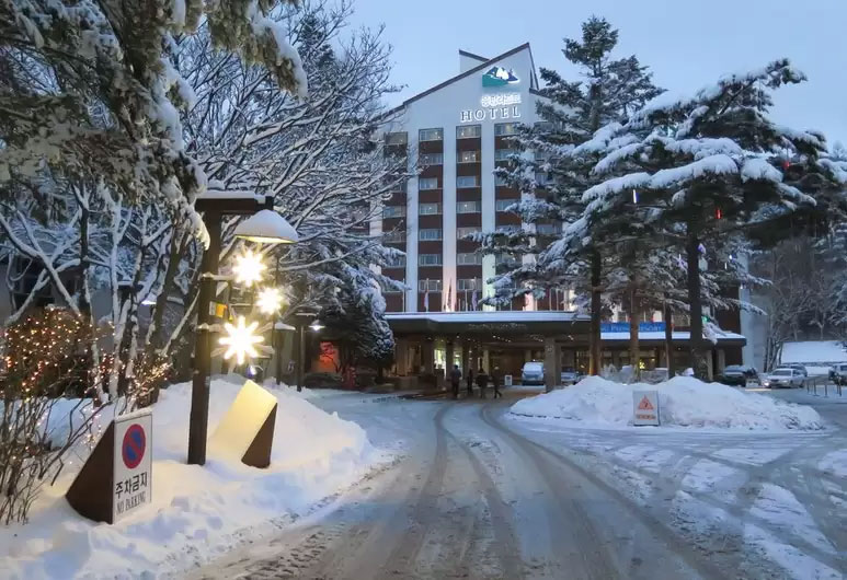Korea's best ski hotel - Dragon Valley Hotel, YongPyong