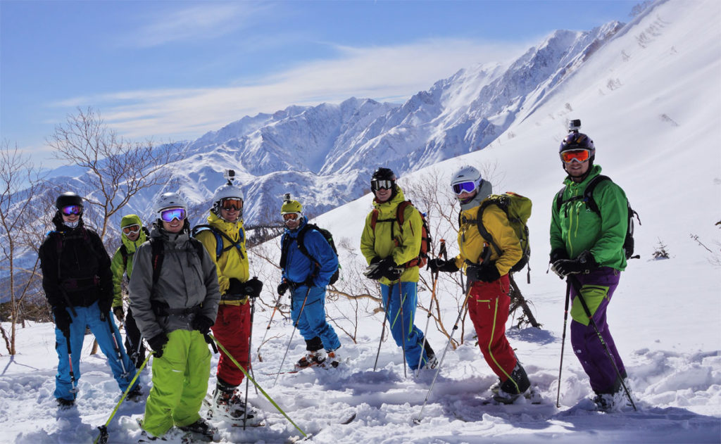 Japan's best backcountry guiding operation - Evergreen Backcountry Guides, Hakuba