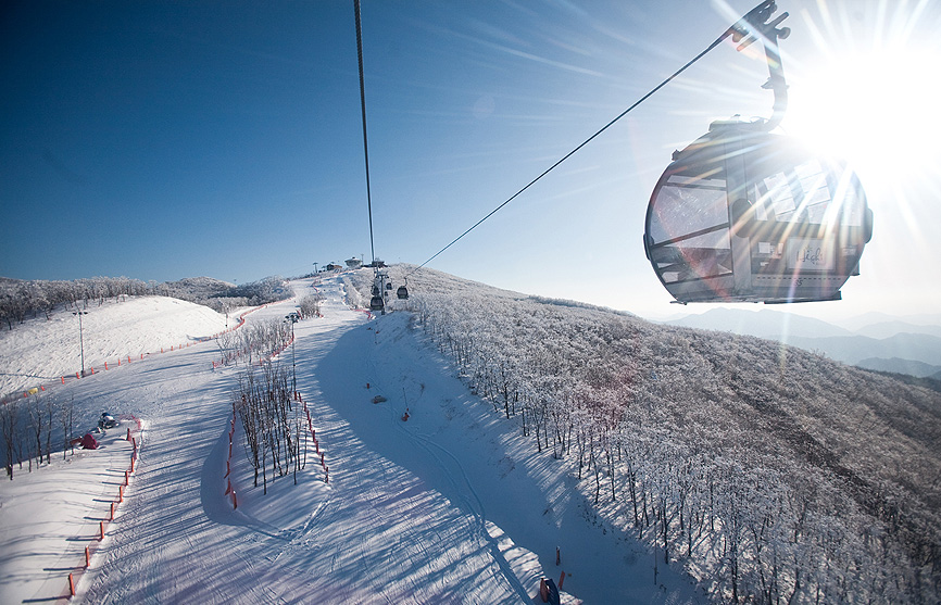 High1 Ski Resort, Korea