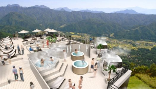 "Japan's largest ski resort is building a ""beach"" 1400 metres above sea level"