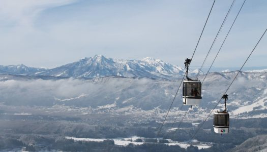 New Nozawa Onsen gondola will transport skiers in half the time