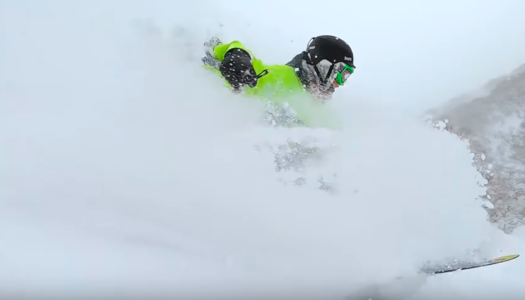 Footage from the worst snowboard season in Japan