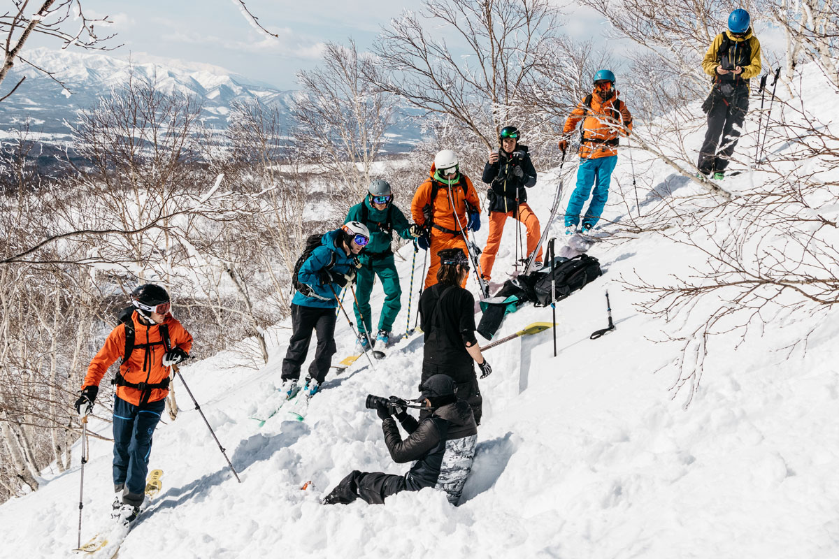 Avalanche safety in Niseko, Japan