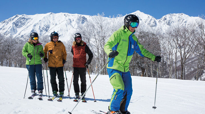 Evergreen International Ski School, Hakuba