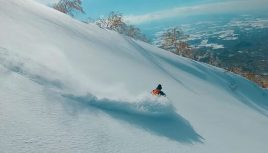 Japan's new tourism video gives hope to skiers and snowboarders